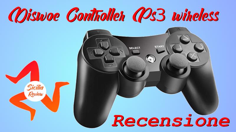 Recensione Joypad Diswoe wireless Ps3
