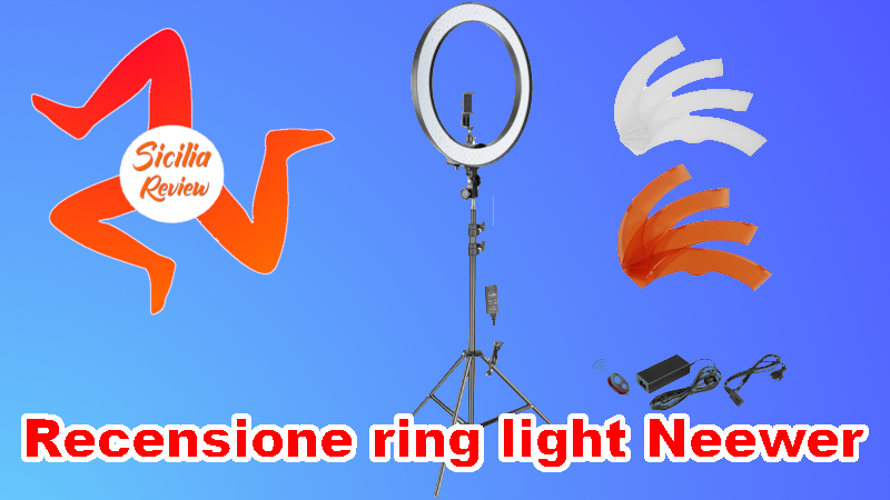 Recensione ring light Neewer