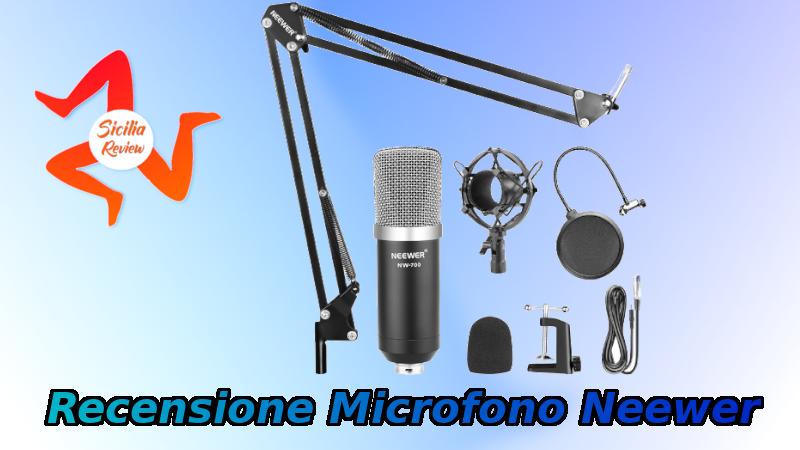 Recensione Microfono Neewer