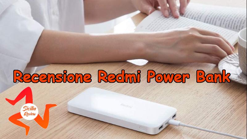 Recensione Redmi Power Bank