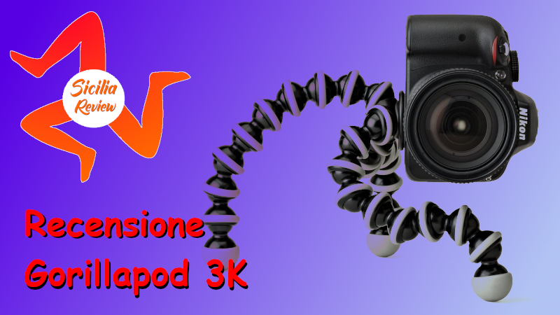 Recensione Joby GorillaPod 3K