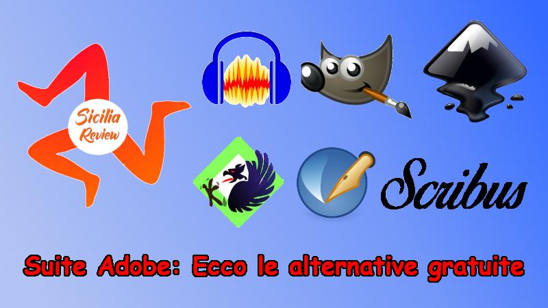 Suite Adobe: Ecco le alternative gratuite