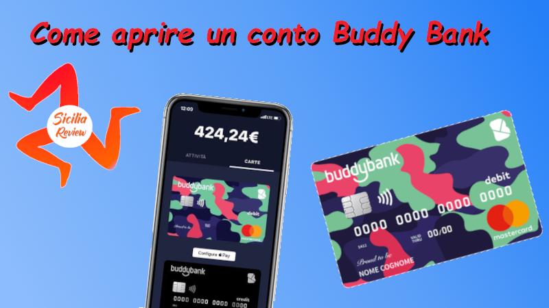 Come aprire un conto corrente con Buddy Bank