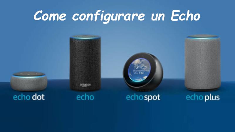 Come configurare un Amazon Echo Dots