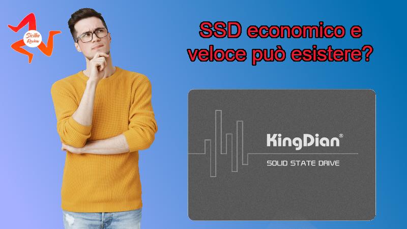Recensione SSD della King-dian